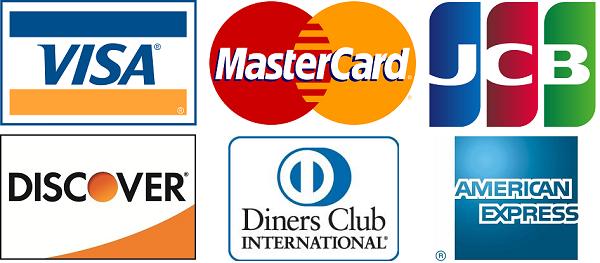 7社クレジットカード使用可能のイメージ